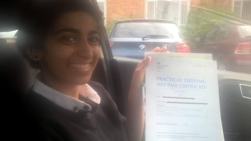 customer reviews, Jasmine Northampton, driving instructors Northampton