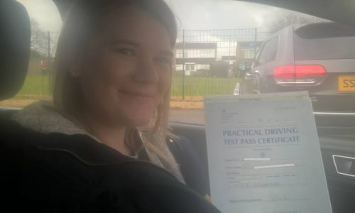 Passed First Time With 4 Minors