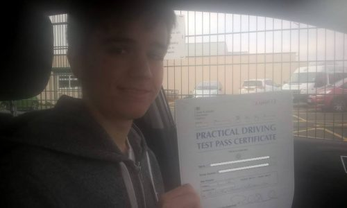 Great Driving Instructor 1st Time Pass