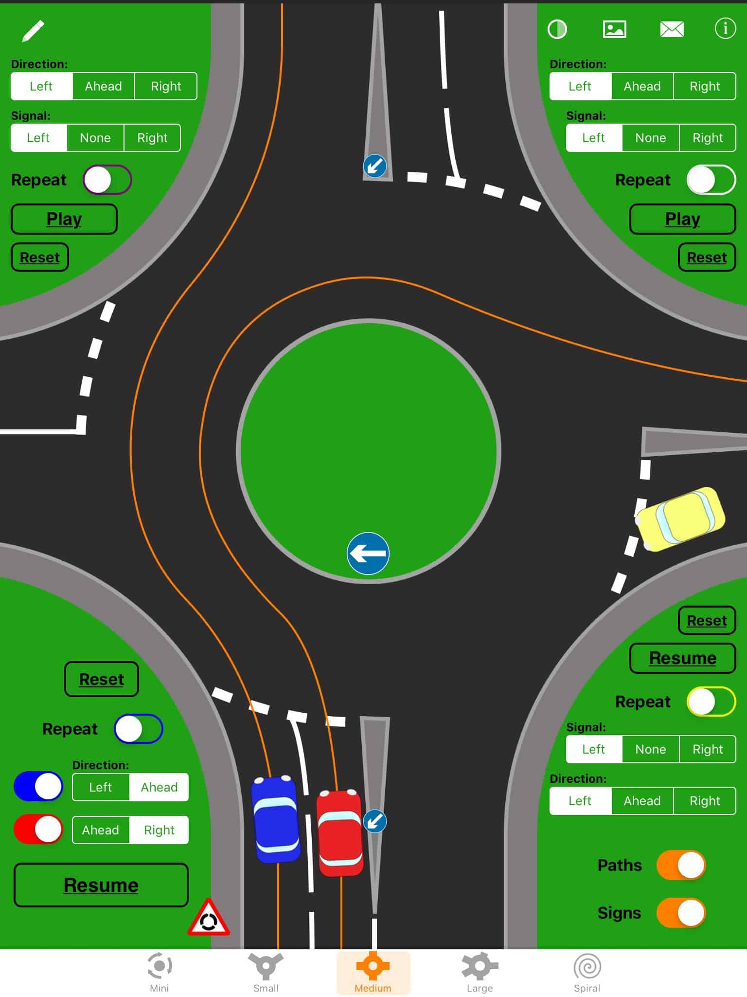 Roundabouts in the UK